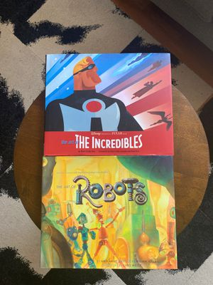 The Art of The Incredibles & Robots for Sale in Los Angeles, CA