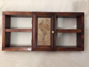 Mid Century Wooden Shelf with Original Italian Tile for Sale in Crofton, MD