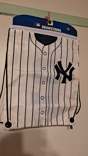 New York Yankees drawstring backpack #2 for Sale in Mastic, NY