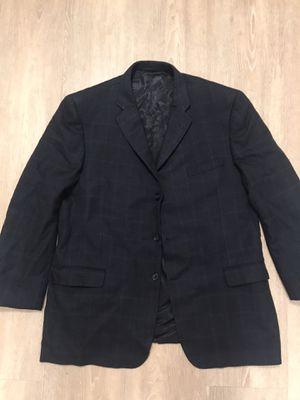 Men's BURBERRY Plaid London T Model Bond Street Sports Coat Blazer 48L for Sale in Alameda, CA