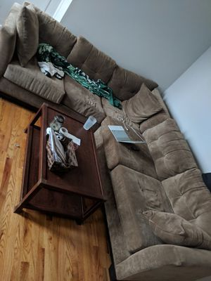 Comfy sectional couch - $300 for Sale in Brooklyn, NY