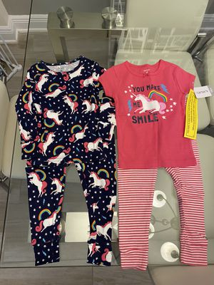 New Carter's 18 mon pajamas (4 pieces) for Sale in Wesley Chapel, FL