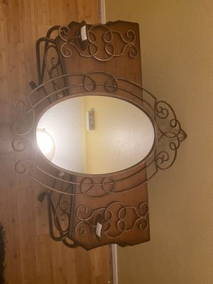 4 Piece Set console table mirror and 2 candleholders for Sale in Pensacola, FL