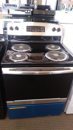Stainless steel 4 coil top electric stove for Sale in Pasadena, TX