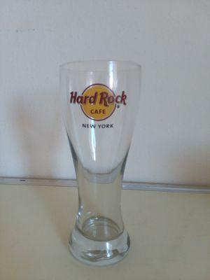 Hard Rock Cafe NEW YORK Pilsner BEER Glass. for Sale in Adelphi, MD