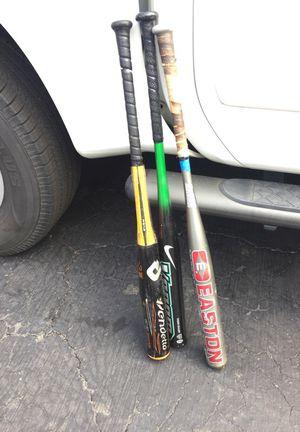 2 Softball bats and 1 Baseball Bat for Sale in Fairfield, CT