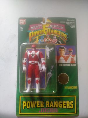 Vintage Power Rangers Auto Morphin Flip Head Red Ranger Action Figure for Sale in Milford, MA