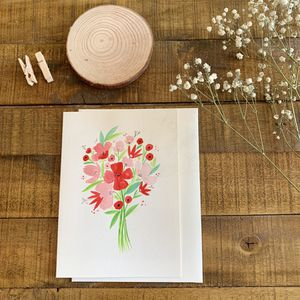 Handmade watercolor greeting card for holiday gifts, Christmas gifts, thanksgiving gifts for Sale in Medford, MA