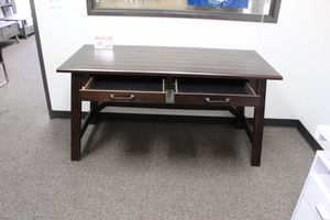 Large Rustic Brown Office Desk, H675-44 for Sale in Bell Gardens, CA