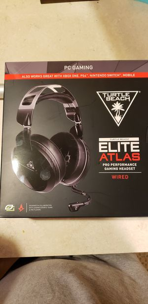 Turtle Beach Elite Atlas Gaming Headset for Sale in Jacksonville, FL