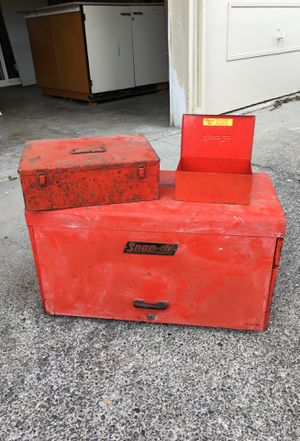 Vintage snap-on boxes for Sale in Des Moines, WA