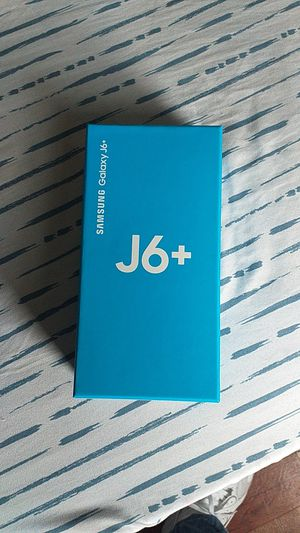 Samsung Galaxy J 6+ looking to sell 400 or best offer the phone is brand new for Sale in Philadelphia, PA