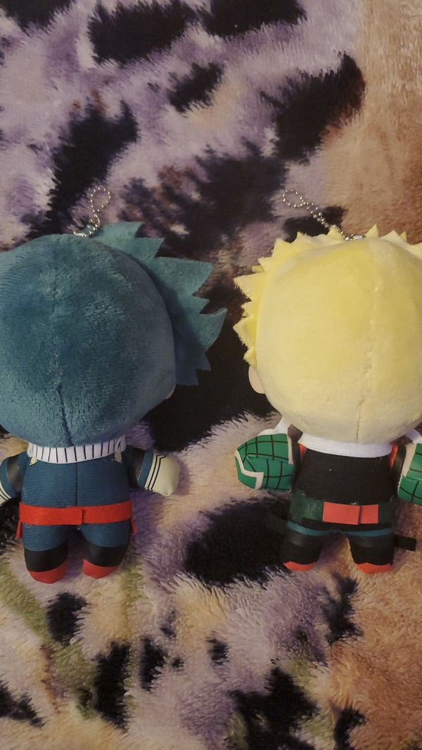 My Hero Academia (Izuku Midoriya/Bakugo) Plush Dangler (Read Description For Full Details Pls)