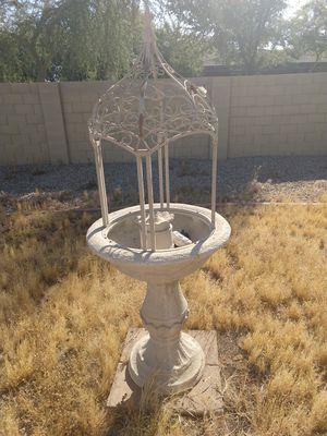 Bird bath fountain for Sale in Goodyear, AZ