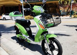 Superfly electric bike electric bicycle electric scooter electric motorcycle moped ebike Vespa Kawasaki Tao Yamaha Honda bmw Mini Cooper by AmericanE for Sale in Miami Beach, FL