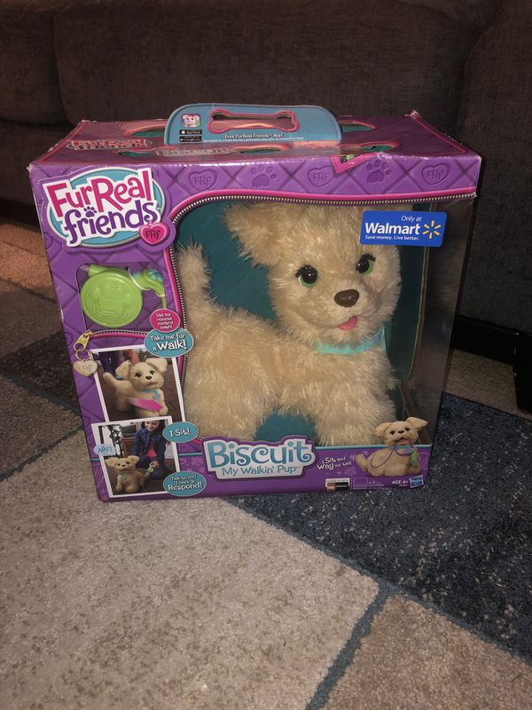 Brand New FurReal friends Biscuit My Walking Pup.