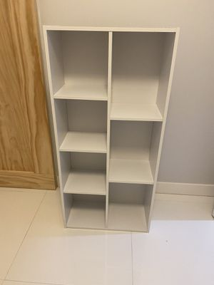 7-Cube White Open Shelf for Sale in Miami, FL