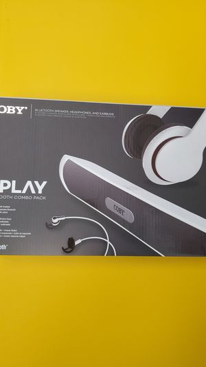 Coby bundle Bluetooth combo pack for Sale in St. Petersburg, FL