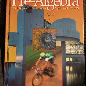 Pre-algebra Book for Sale in Laveen Village, AZ