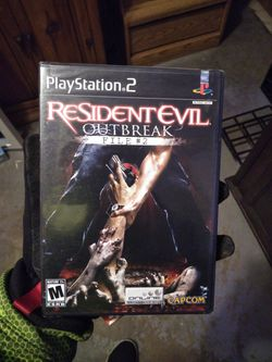 Playstation 2 Ps2 Resident Evil Outbreak Files 2  for Sale in Houston, TX