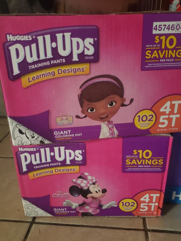 Pull-Ups Size 4T-5T