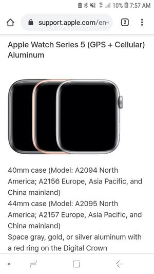 Series 5 Apple Watch for Sale in Ontario, CA