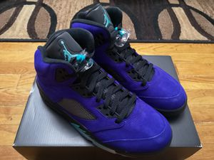 "Air Jordan 5 ""Alternate Purple"" size 8 for Sale in Queens, NY"