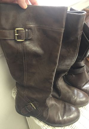 Size 3 girls riding boots for Sale in Chesapeake, VA
