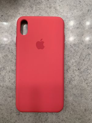 Dark pink iPhone XS Max iPhone case for Sale in Westmont, IL
