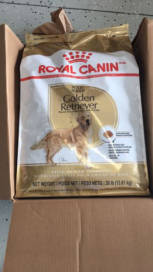 Royal canin golden retriever dog food free for Sale in Odessa, FL