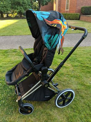 Cybex priam Lux Birds of Paradise for Sale in Portland, OR