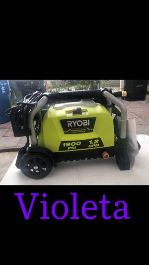Ryobi Water Wheeled Electric Pressure Washer for Sale in Los Angeles, CA