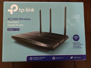 TP-Link AC1200 Gigabit Smart WiFi Router - 5GHz Gigabit Dual Band Wireless Internet Router for Sale in Edmond, OK