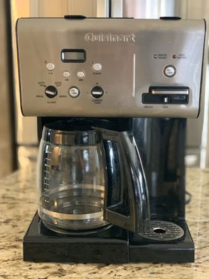 Cuisinart CHW-12 12 cup Coffee maker with Hot water for Sale in Houston, TX