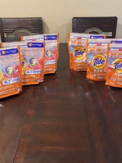 Tide Pods Downy Bundle $20 For All Firm for Sale in Upland,  CA