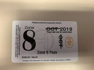 November Zone 8 Pass (Once it arrives) for Sale in Cranston, RI