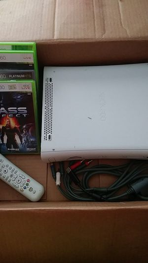Xbox 360 with games for Sale in Dallas, TX