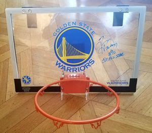 Tim Hardaway autographed Golden State Warriors basketball backboard for Sale in Redwood City, CA