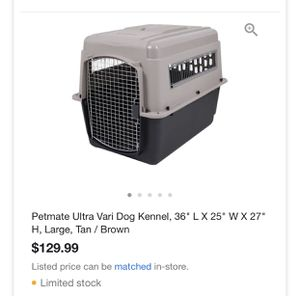 Petmate Large Kennel Crate for Sale in Miami, FL