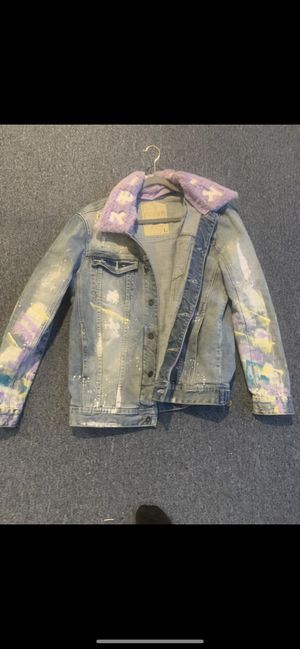 Stylish jean Jacket for Sale in College Park, MD