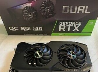 asus dual nvidia geforce rtx 3070 oc edition for Sale in Boston,  MA