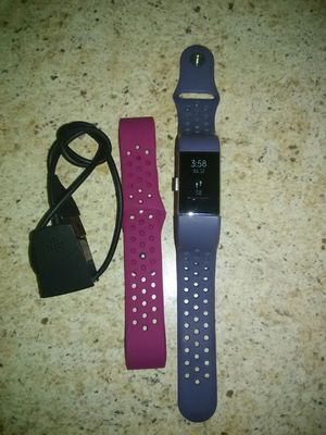 FITBIT CHARGE 2 ACTIVITY TRACKER WATCH SMALL & CHARGER for Sale in Elk Grove Village, IL