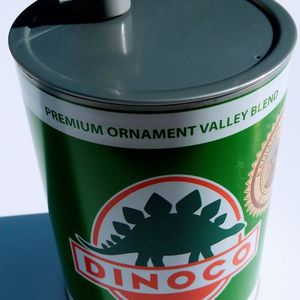Disney Parks Cars Land Dinoco Motor Oil Souvenir Drinking Cup Green HTF for Sale in Long Beach, CA