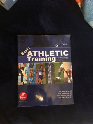 Athletic training complete book for Sale in Chico, CA