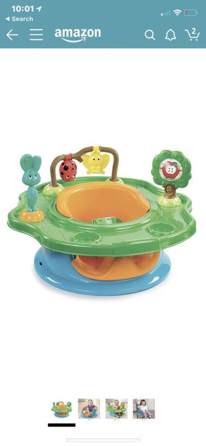 Summer infant 3-stage superseat forest friends (neutral) for Sale in Boca Raton, FL