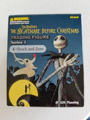 Nightmare Before Christmas Trading Figure Season 1 - Shock and Zero for Sale in Davenport, FL