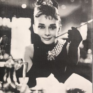 Audrey Hepburn Breakfast At Tiffany's Canvas Print for Sale in Gaithersburg, MD