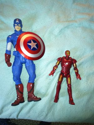Captain America & Iron Man Action Figures for Sale in South Gate, CA
