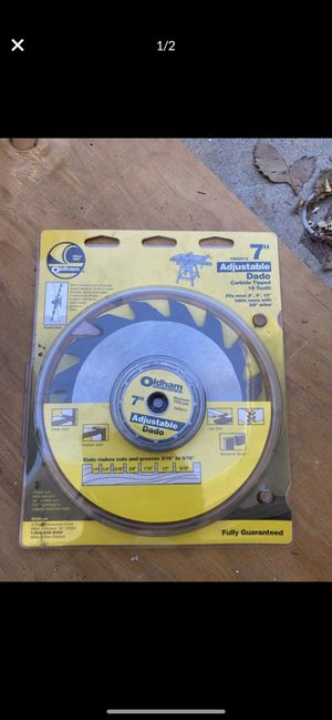 NEW CARBIDE TIP TABLE SAW BLADE for Sale in Los Angeles, CA