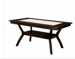 Dark Cherry and Ivory Transitional Style Dining Table for Sale in Chino, CA